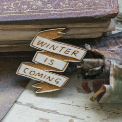 Broche GAME OF THRONES - WINTER IS COMING